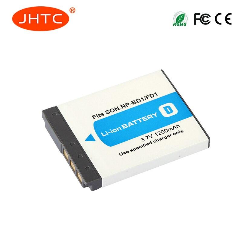 1200mAh NP-FD1 NP-BD1 NP BD1 FD1 Camera Battery For SONY DSC T300 TX1 T900 T700 T500 T200 T77 T900 T90 Batteries For Sony