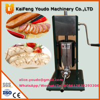 UD 500 Home Use New Design Portable Manual Operation Stainless Steel 5L Vertical Sausage Filler Machine