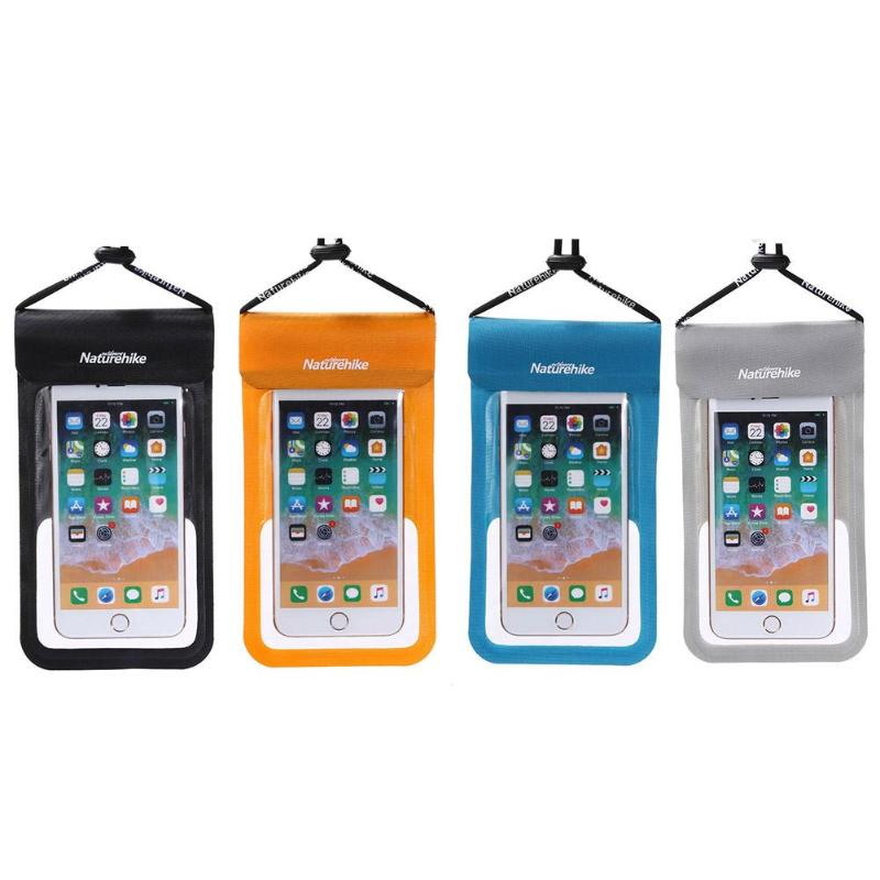 Mobile Phone Waterproof Bag Underwater Dry Bag Mini Swimming Drifting Bag For Smartphone Touch Screen Phone Case 4Colors