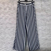 Striped Wide Leg Pants for Women Long Fashion Casual Elegant Pants for lady 2018 new Women Pants