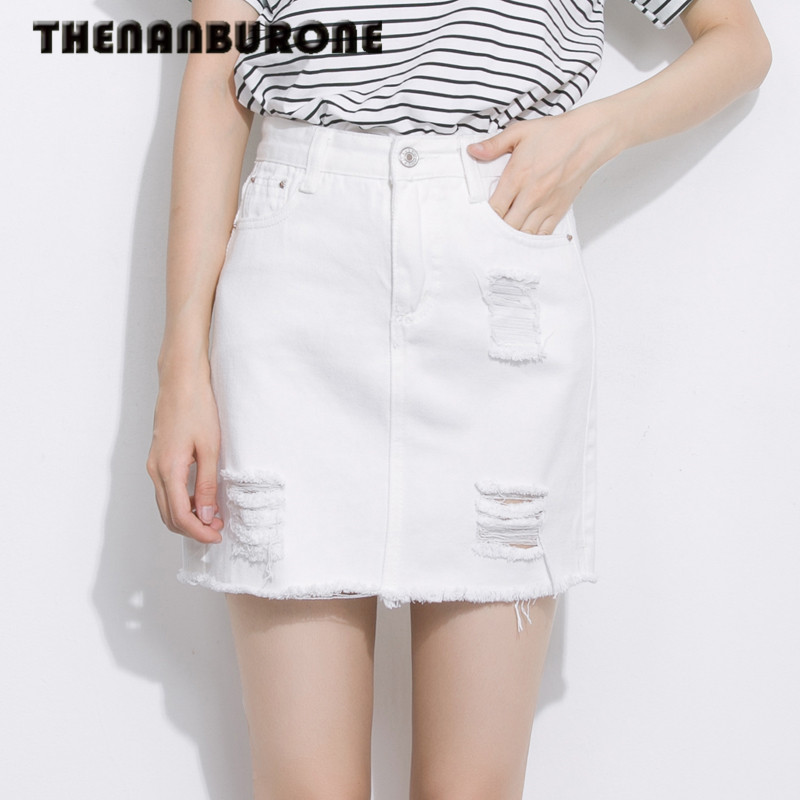 High Waisted White Pencil Skirt Promotion-Shop for Promotional ...