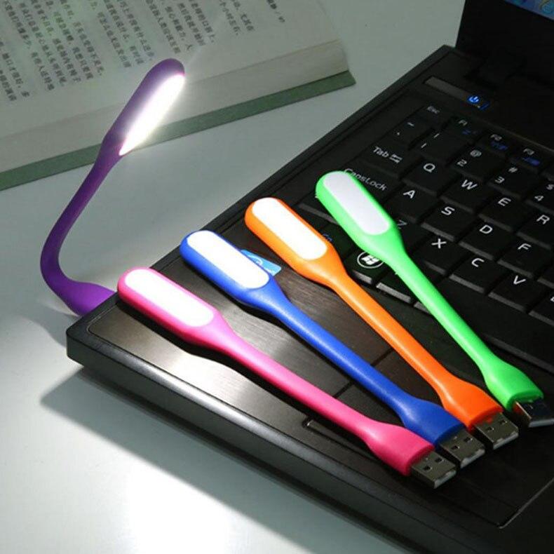 Mini luz de mesa led luz leitura flexível usb led luzes da noite lâmpada proteção para os olhos usb para computador portátil de energia notebook