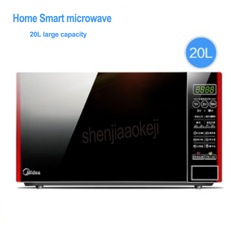 Microwave oven M1-L202B household intelligent multi-functional Microwave oven for roast chicken,cake,thaw,disinfection 220v 700w