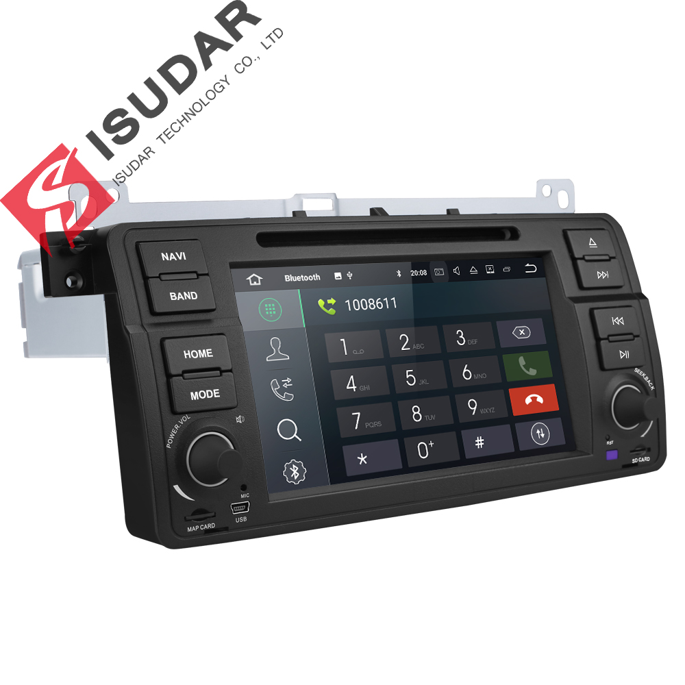 Isudar Car Multimedia Player Android 8.1.0 GPS 1 Din DVD Automotivo - Electrónica del Automóvil - foto 4