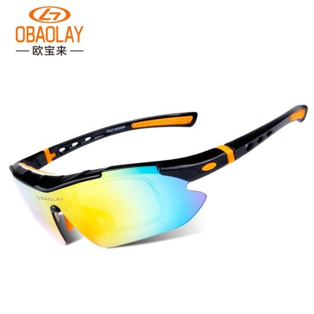 5bf91fd50bebc OBAOLAY SP0890 Bike Glasses Polarized Oculos Para Ciclismo Gafas MTB  Anti-UV Cycling Glasses Sport