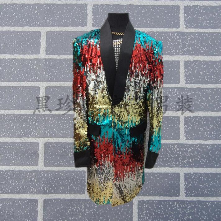 Camouflage men suits designs masculino homme terno stage costumes for singers men sequin clothing jacket style dress dance