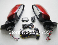 Upgraded Mirror Assembly for Cheverolet Cruze, with Power Folding, Auto Folding, LED Turn Signal and Heated Mirror