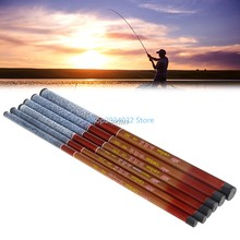Fishing Rod Portable Fishing Rod Telescopic Hand Fishing Sea Pole Tackle Accessory Tool M08(China)