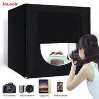 Lightbox Ảnh Phòng Thu Ánh Sáng Nhiếp Ảnh Hộp Softbox 160 LED Đèn Xách Tay Studio Bàn Chụp Tent Box Kit 80 cm 32'CD15