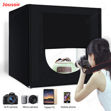 Lightbox Studio Photo Light Box Photography Softbox 160 LED Lamp Portable Tabletop Shooting Tent Kit 80cm 32CD15