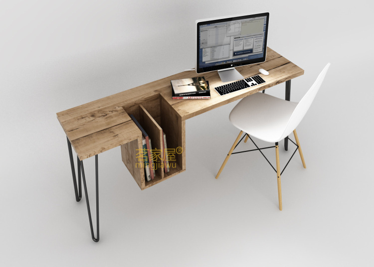 Simple and stylish home Simple wood desktop computer desk desk home