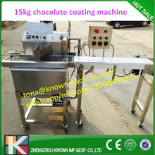 110v  or 220v stainless steel 304 chocolate coating line with 15 kg caapcity