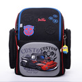 2017 Russia Delune Brand School Bags for Boys 3D Cartoon Racing Car Motorcycle Pattern Waterproof Orthopedic Backpacks Kid Bag