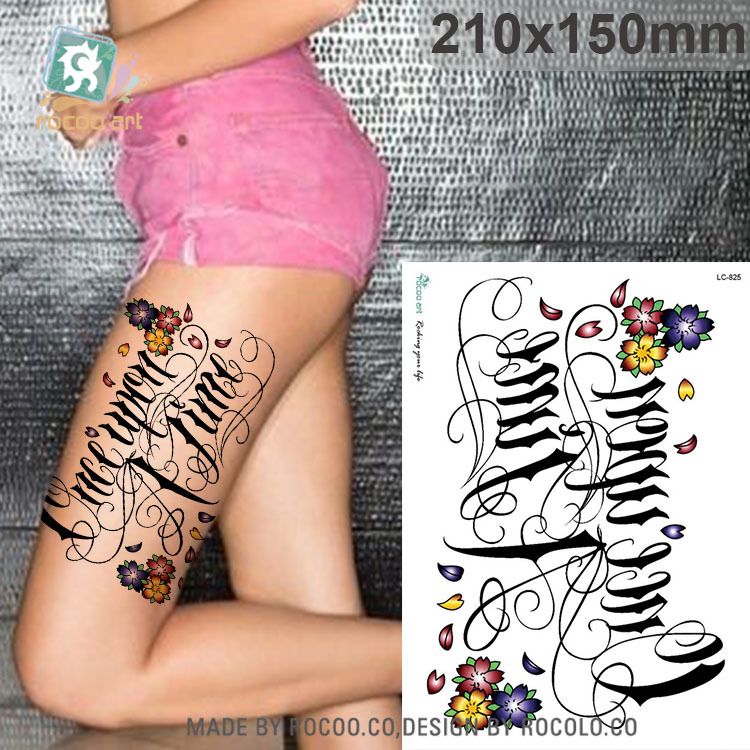 Ξ2018 real tatuaje temporal impermeable tatuaje Adhesivos color ...
