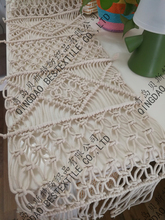 Macrame table runner- Bohemian wedding runners customized size home deocration