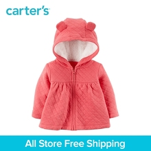 Carter s 1 Piece baby children kids clothing Girl Sherpa Lined Quilted Jacket 127G734