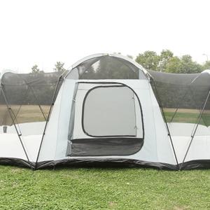 Image 4 - Ultra 8 12 Person Einer Halle 2 Schlafzimmer Doppel Schicht Wasserdichte Starke Camping Zelt Familie Zelt Carpas De Camping große Pavillon