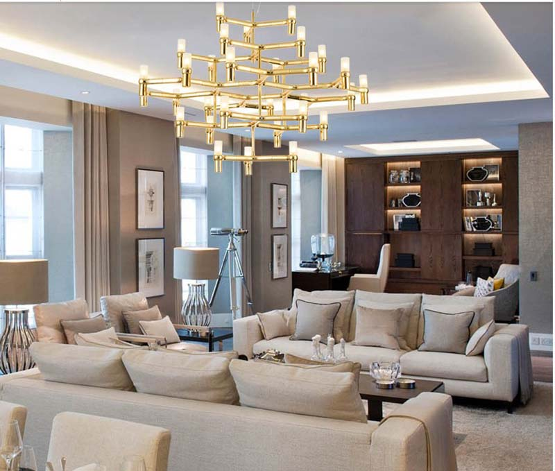 Crown Nemo Minor Chandelier Postmodern Art Lighting For Hotel Living Room Bedroom Lobby Villa Stairs Droplight Candle In Pendant Lights From