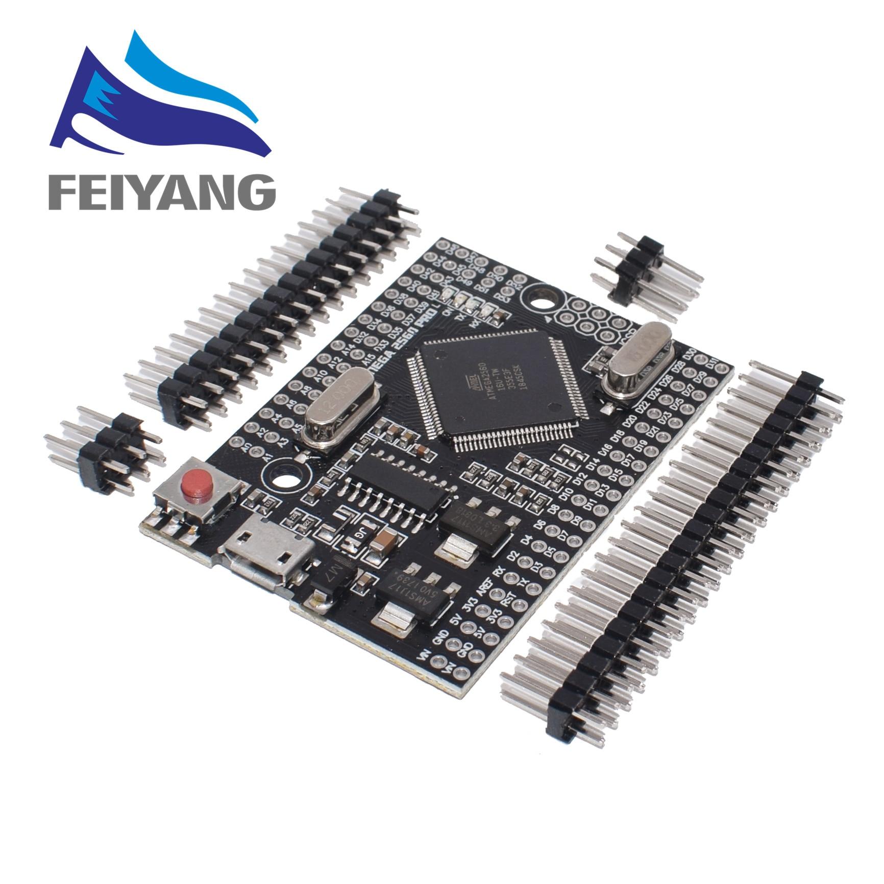 MEGA 2560 PRO Orkut CH340G/Mega2560 ATMEGA2560-16AU Chip com pinheaders masculino Compatível para arduino DIY