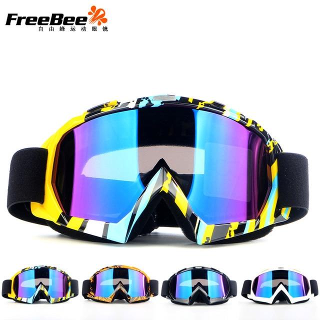 Outdoor Motorcycle Safety X600 Ski Goggles Double Layers UV 400 Anti-fog Big Ski Mask Glasses Skiing Men Snow Snowboard Goggles