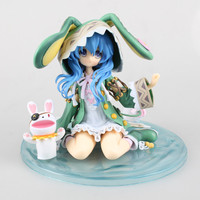 15cm Anime Date A Live Yoshino Hermit Sitting Position Ver PVC Action Figure Collectible Model doll toy