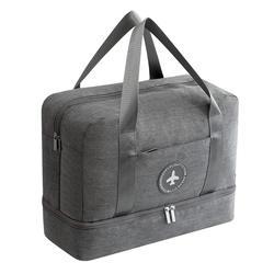 Новый катионная ткань водостойкая дорожная сумка большая емкость двойной слой пляжная сумка переносная вещевая сумка куб для упаковки