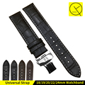 18/19/20/22/24mm Hot Sale Genuine Leather Watchband Black Brown Watch Accessories For Tissot Strap Bracelet 1853 Watchbnd +Tools