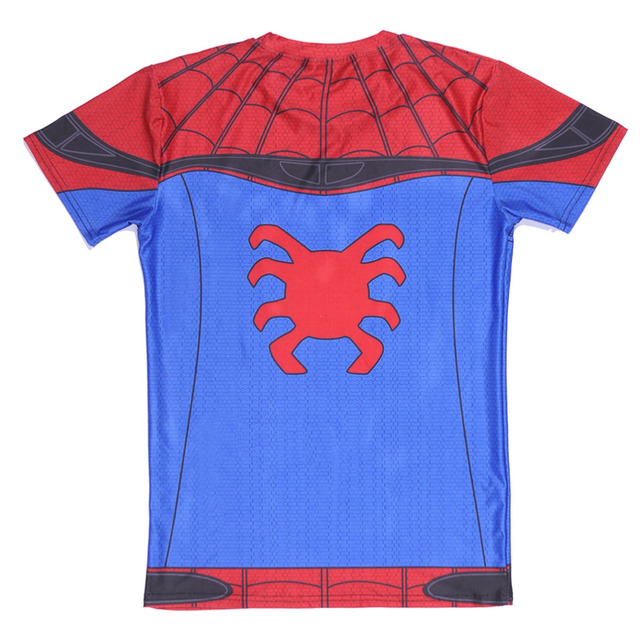 Spider-Man Short Sleeve Compression T-Shirt