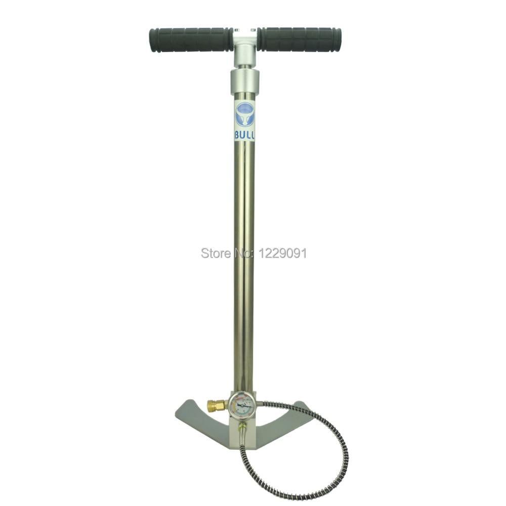 BULL Pre Charged pcp pump 3 Stage Air Rifle Pump high pressure 4500 psi 300 bar