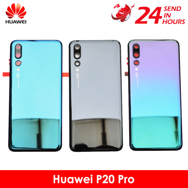Case Replacement Cover Glass Back-Battery HUAWEI Original for P20 Pro Door Rear 20-Pro
