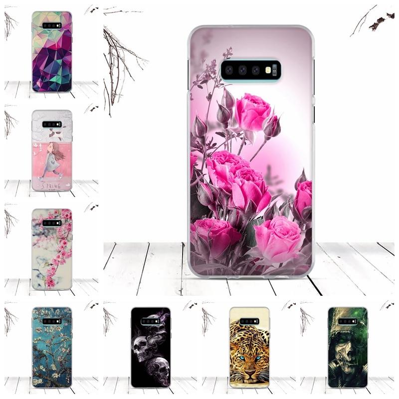 Bumper Case For Samsung Galaxy S10 E Case Cover Soft TPU Silicone Fundas Cover For Samsung Galaxy S10 E Cover Coque Shell