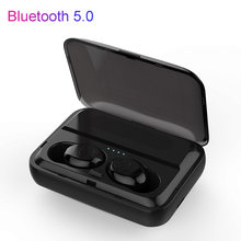 With Charging Stand F9-3 TWS Wireless Bluetooth Earphones True Stereo Headset Earbuds(China)