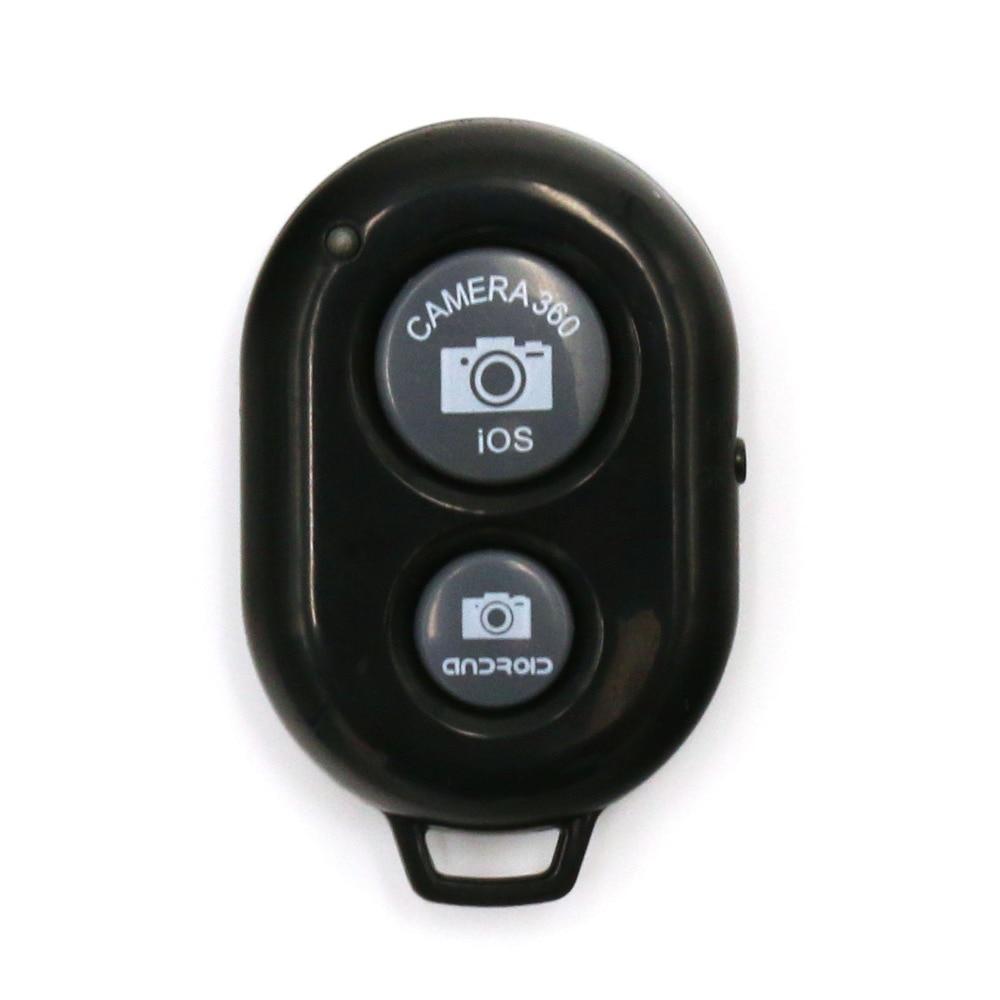 black Bluetooth Shutter Remote Control Button Wireless Bluetooth Self-Timer Camera Phone Monopod Selfie Stick Shutter Controller