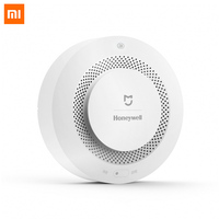 In Stock 2017 Original Xiaomi Mijia Smart Fire Alarm Detector Audible Visual Smoke Sensor Remote Mihome APP Smart Control