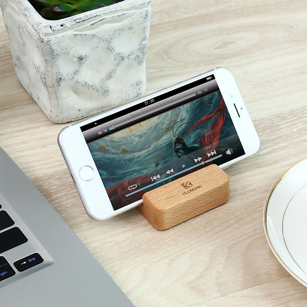 FLOVEME Portable Wooden Phone Holder for iPhone