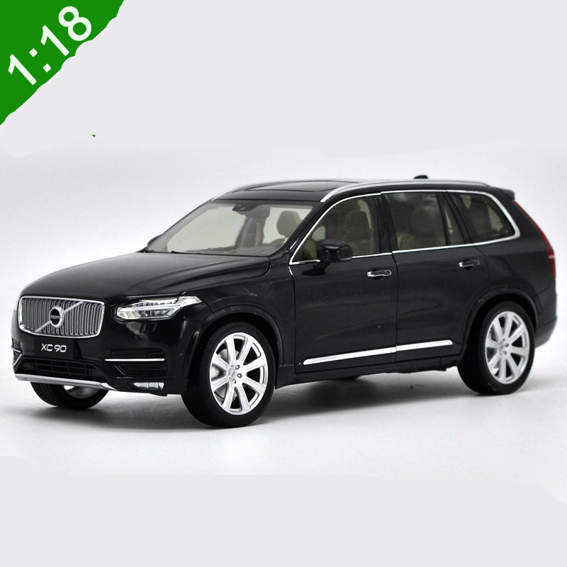 1:18 For Volvo XC90 2015 SUV Diecast Metal Model Car SUV Toys Alloy Car toys model with Steering wheel control With Original Box