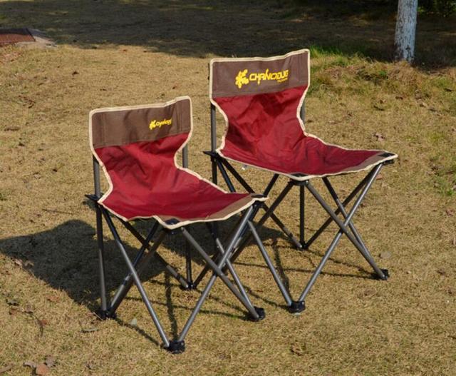 Novo Design Portátil Dobrável Tamborete Cadeira de Acampamento Ao Ar Livre Leve Dobrar Cadeira de Acampamento Fezes S31D5