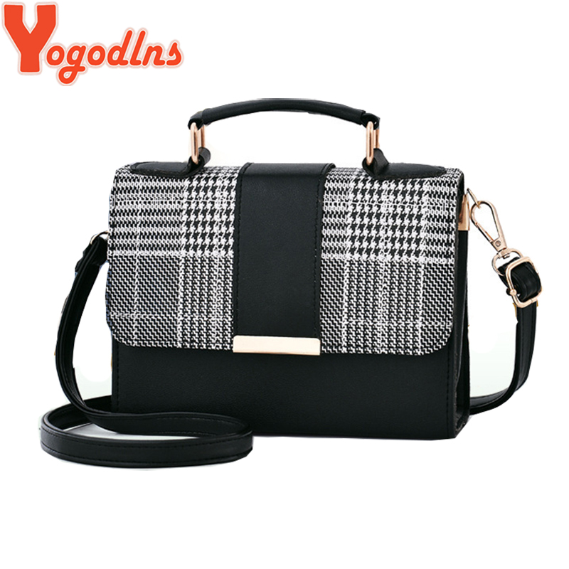 yogodlns-new-retro-plaid-small-square-package-minimalist-fashion-stitching-wild-messenger-shoulder-bag-ms-packet