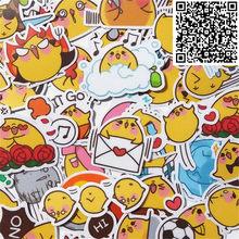 40 Uds Chick life story impermeable Cap Creative Sticker para monopatín portátil equipaje teléfono Styling juguete casero pegatinas de dibujos animados