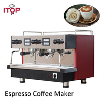 Electric Italy espresso coffee maker commercial double group 11L CE 220 240V  цена и фото
