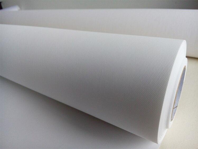 17inอิงค์เจ็ทสีขาวโพลีเอสเตอร์ศิลปะผ้าใบม้วนกระดาษ(2ม้วน)-ใน ผ้าใบสำหรับระบายสี จาก อุปกรณ์ออฟฟิศและการเรียน บน   1