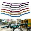 """7/8 """"22mm motocicleta guiador reacionará pit bike motocross universal guidão da motocicleta para honda cb400 yamaha suzuki ktm"""