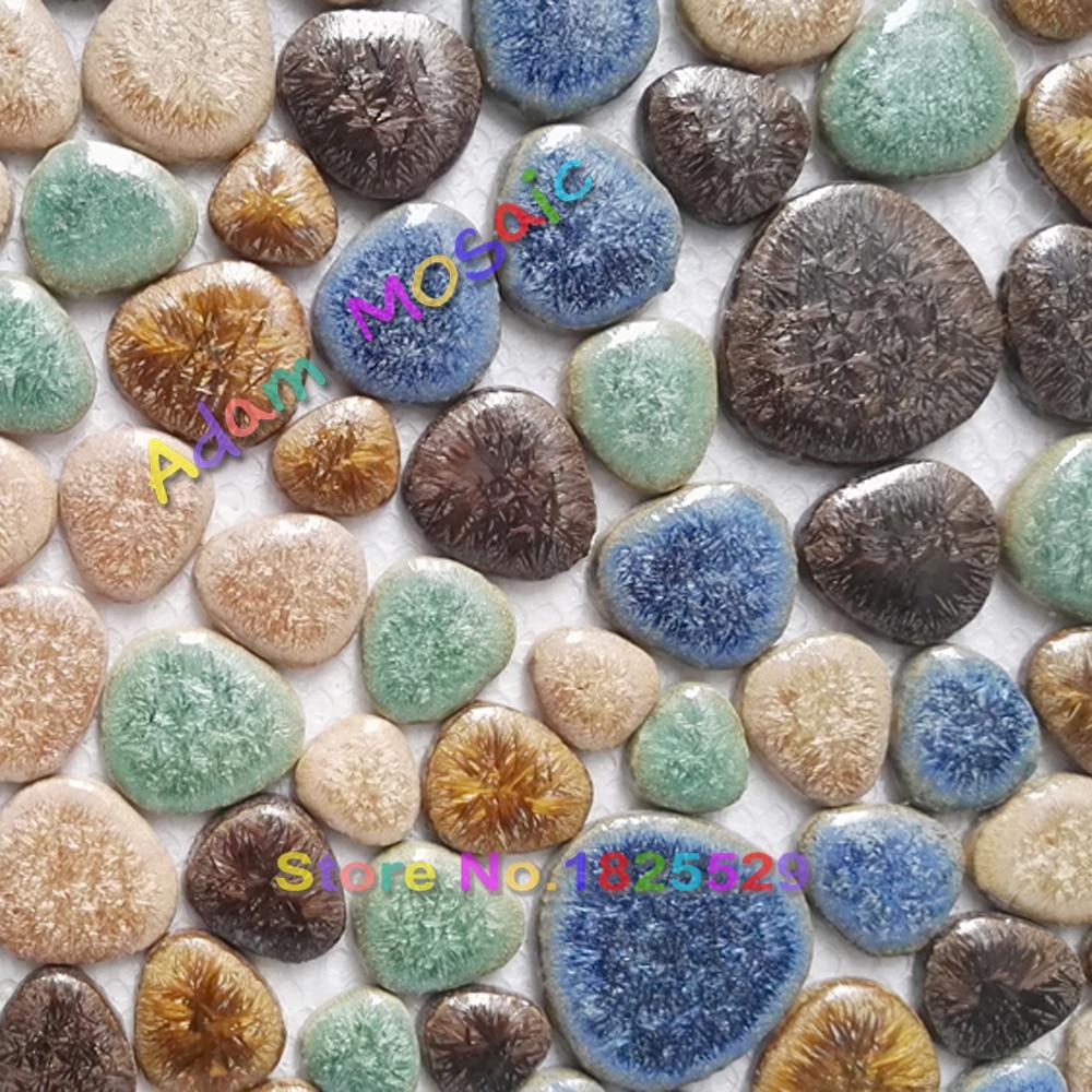 Online kopen wholesale pebble tegel badkamer uit china pebble ...