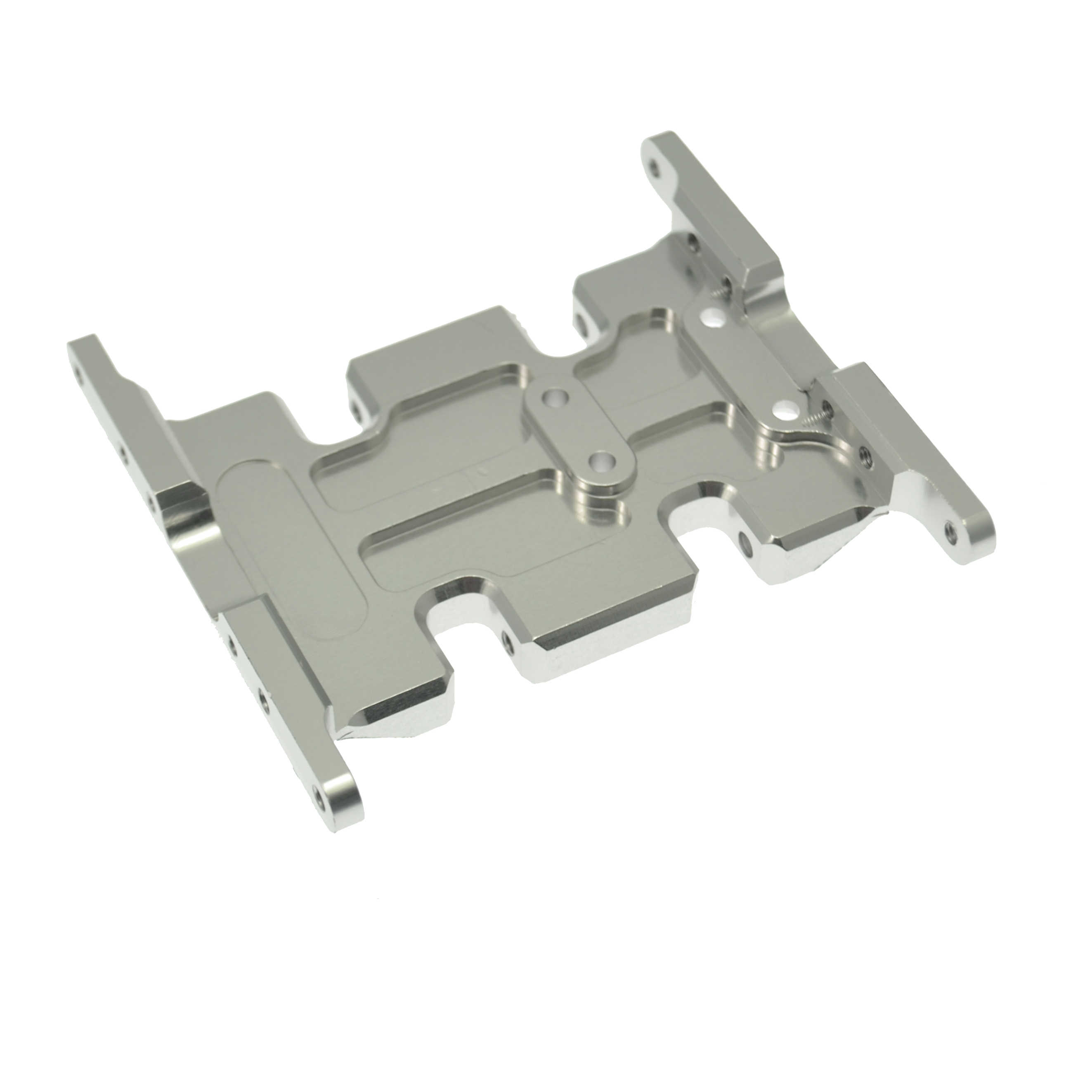 Aluminum Alloy Gear Box Mount Skid Plate Upgarde Part for 1//10 Axial SCX10