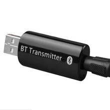 3.5MM USB Wireless Audio Bluetooth Transmitter Music Stereo Dongle Adapter for TV Smart PC DVD MP3 BHT01R jinserta 2018 brand new wireless audio bluetooth transmitter music stereo dongle adapter for tv smart pc mp3 headphone