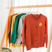 Funfeliz Children Cardigans 2018 Autumn Winter Baby Girl Sweater Toddler Boys Cardigan Knitwear Child Pullover Kids