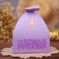 100Pcs/lot Butterfly Candy Box DIY Folding Party Wedding boda Decoration Gift Paper Favors Boxes Wedding Decoration