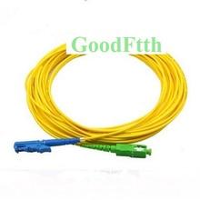 Оптоволоконный Соединительный шнур, Джампер кабель E2000/UPC SC/APC SM Simplex GoodFtth 20 50m