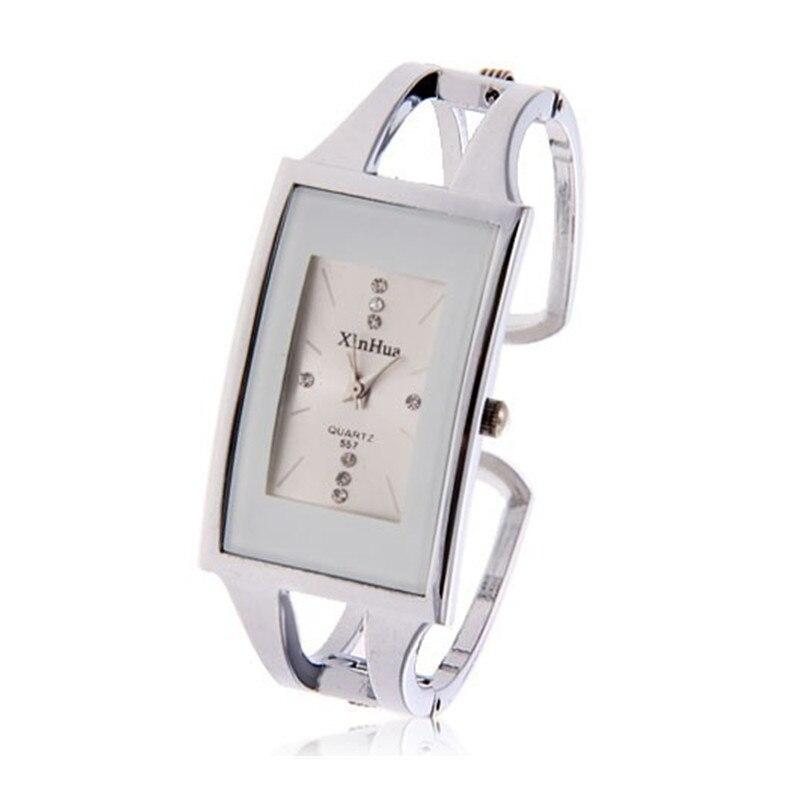 XinHua Luxury Brand Watch Women Fashion Crystals Full Steel Bracelet Quartz Watch Women Dress Watch reloj