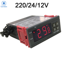 купить Digital Thermostat Temperature Regulator Controller 12V 24V 220V Thermoregulator, Room Thermostat Incubator Termometro STC 1000 дешево